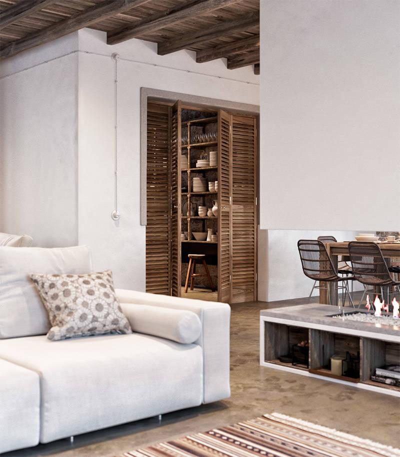 Casas r sticas modernas que te van a robar el coraz n Decoracion de casas contemporaneas