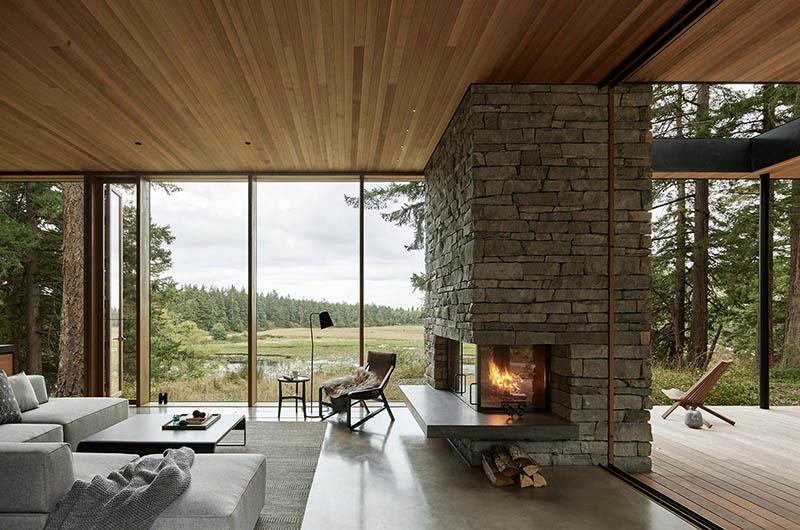 cómo decorar una casa rústica moderna