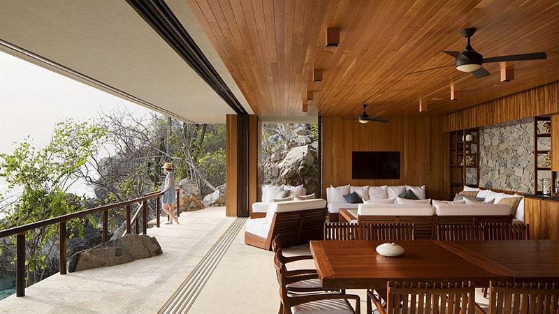 decoración casa rústica moderna