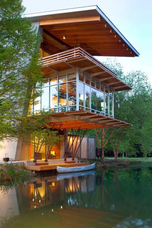 Casas r sticas modernas que te van a robar el coraz n for Casa moderna y rustica
