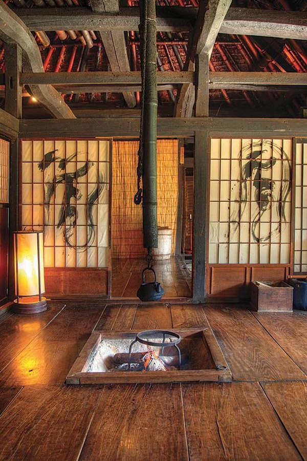 Casa de te en Japón