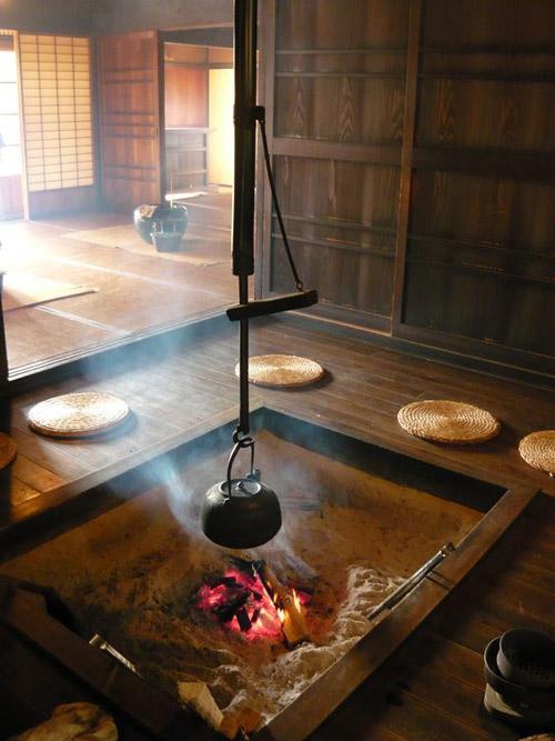 Casa de té tradicional japonesa