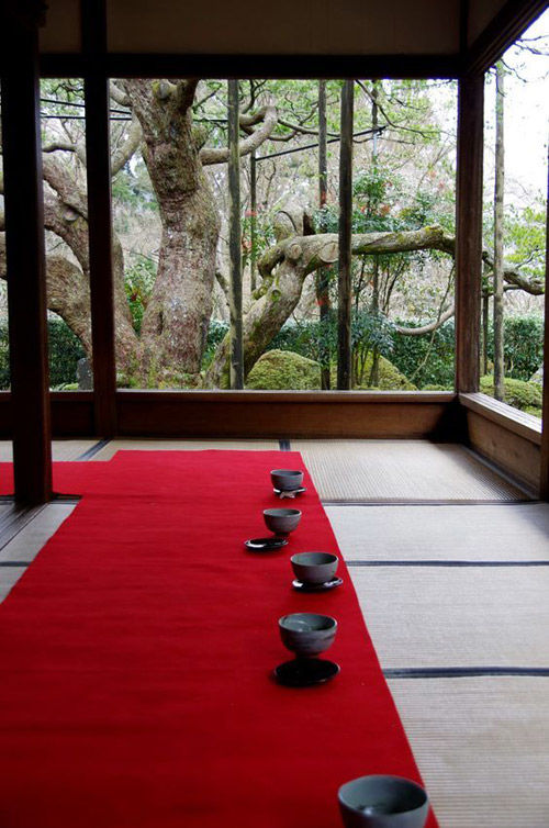 la decoración en las casas tradicionales japonesas