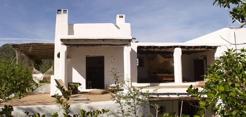 Arquitectura clásica de las casas de Ibiza