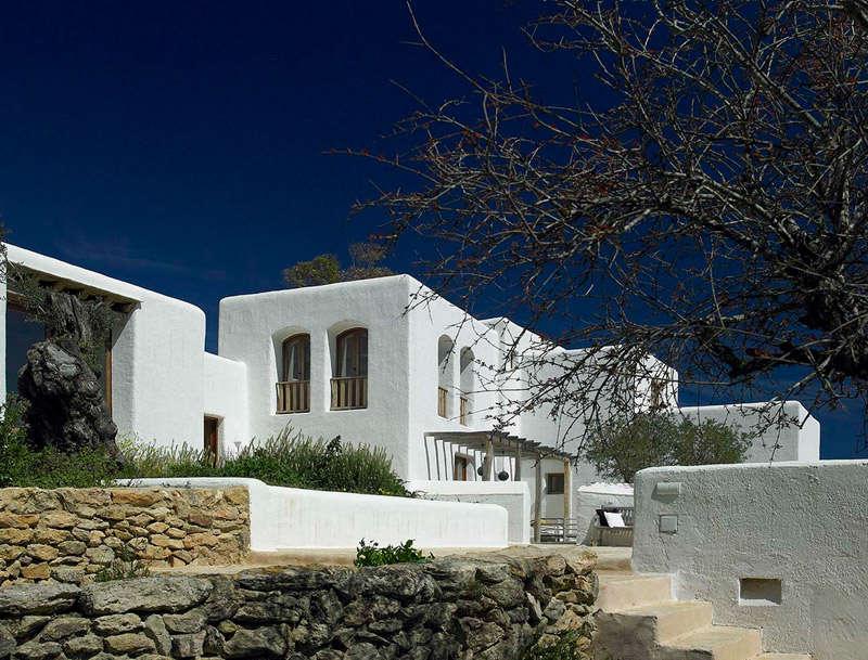Casa característica de Ibiza