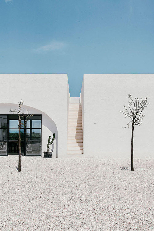 El estilo minimalista en las casas mediterráneas