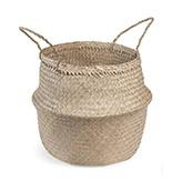 cesto de fibra natural