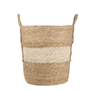 cesta decoración natural