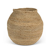cesta grande de yute