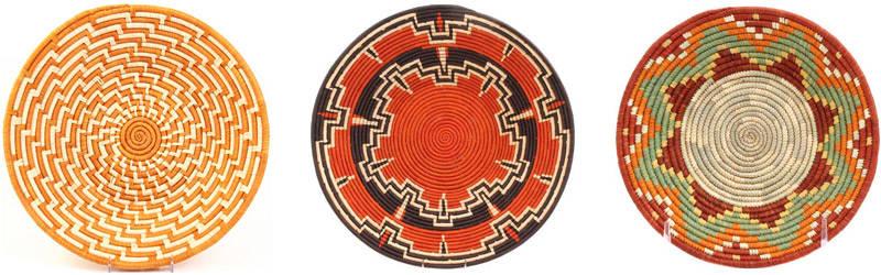 cestas decorativas bukedo de africa