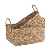 cestas de fibra natural