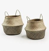 cestos fibra natural