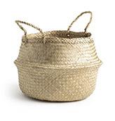cesta grande fibra natural