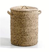 cestos de mimbre para la decoración del baño