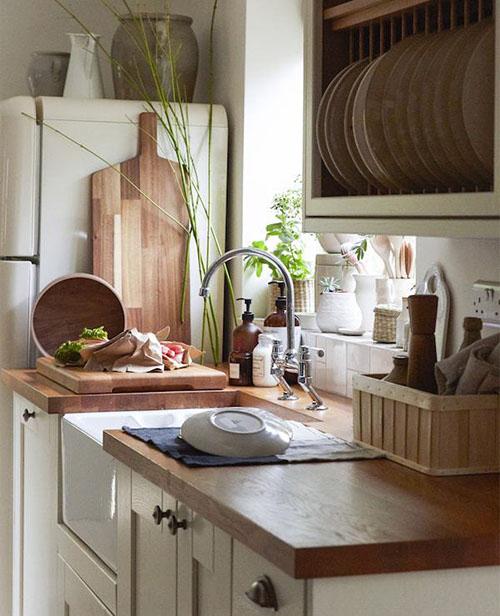 Cocina de una casa de campo