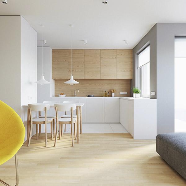 colores neutros en la decoración de casa