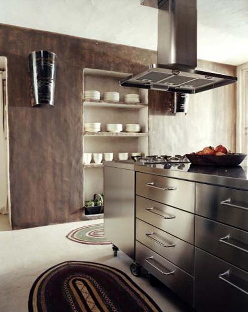 cocina con un diseño más contemporáneo y moderno