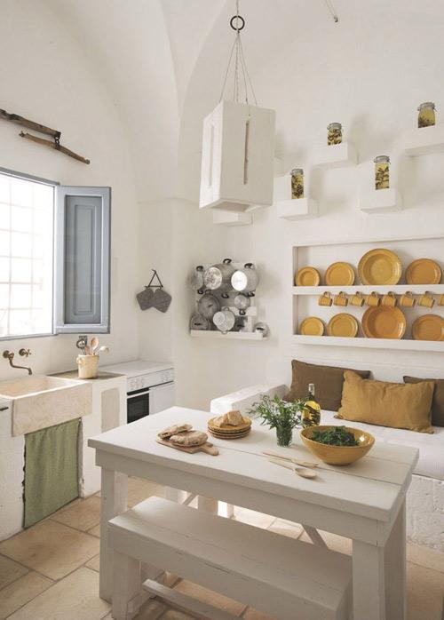 la cocina de estilo mediterráneo