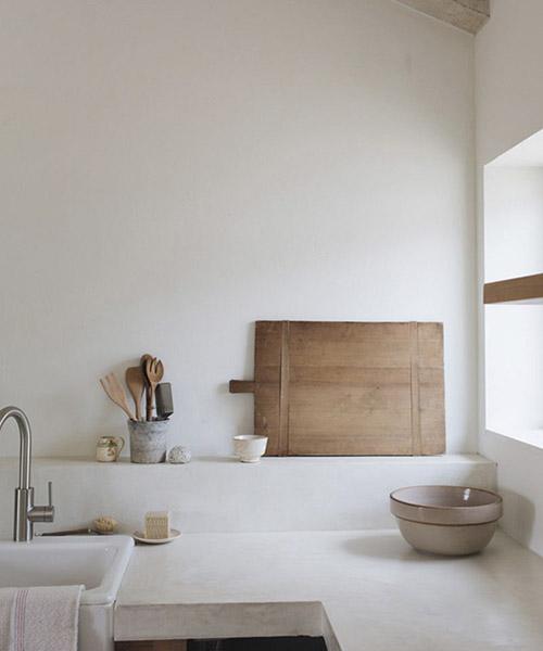 Colores neutros en la decoración de cocinas