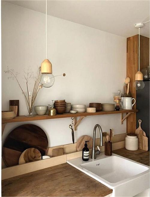 decoración natural de la cocina