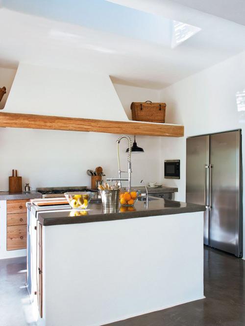 cocina en una casa en ibiza