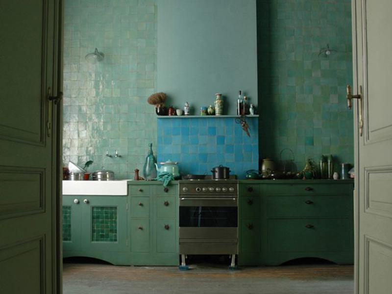 decoración de cocinas con azulejos de marruecos