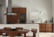 Cocinas rústicas de estilo moderno