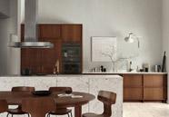 Cocinas de diseño rústico moderno