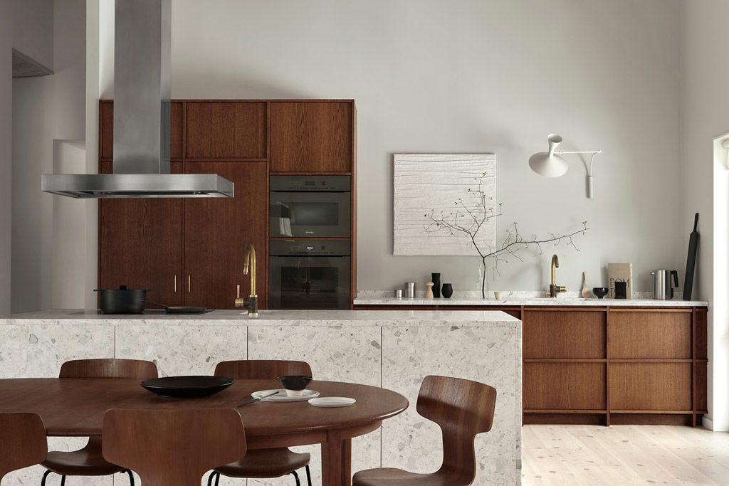 Cocinas rústicas de diseño moderno y minimalista