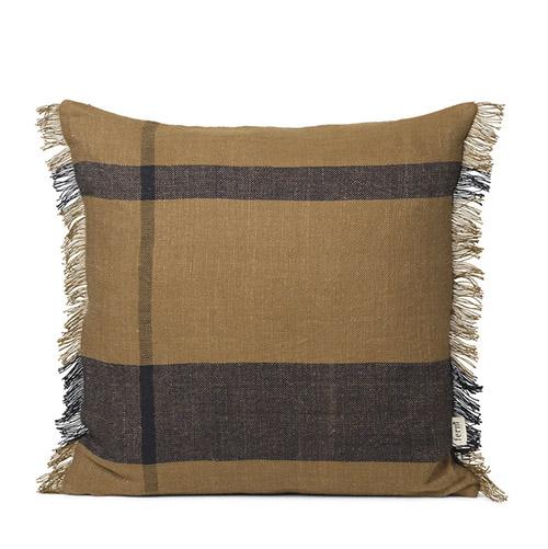 cojín estampado para sofá