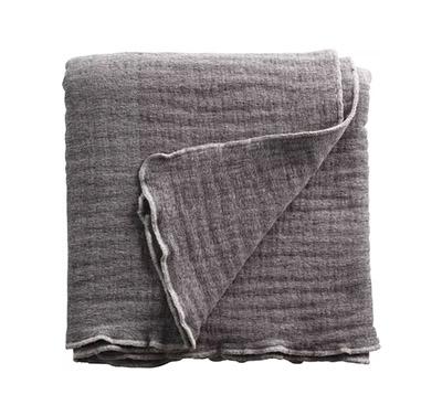 cubrecama de algodón y lana