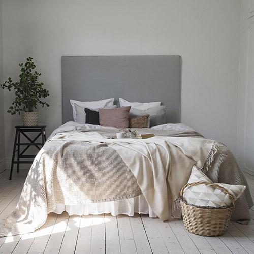 ropa de cama para decorar el dormitorio