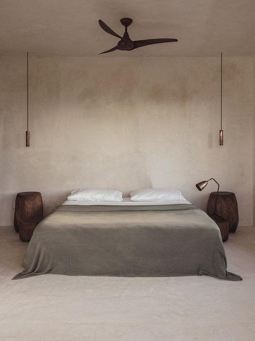 colores neutros para los interiores decorados con un estilo minimalista
