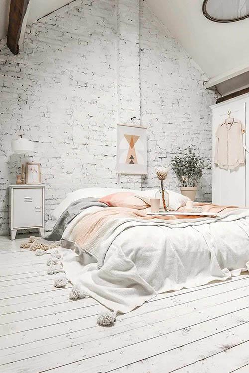 el color blanco en la decoración nórdica