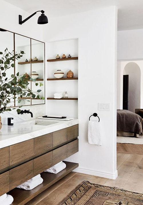 ideas para la decoración de cuartos de baño