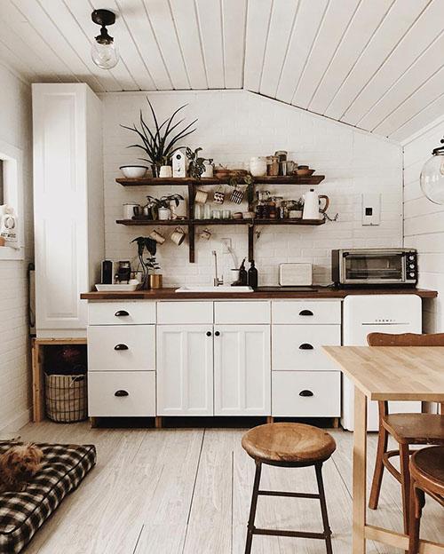 color blanco para cocinas pequeñas