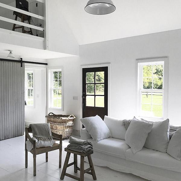 cómo decorar una casa en blanco