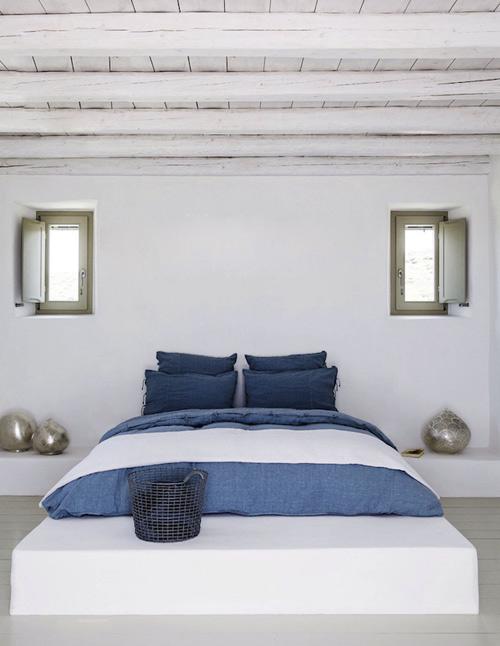 El color blanco en la decoración mediterránea