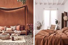 Pintar las paredes con el color terracota
