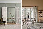 colores crema para decorar el hogar