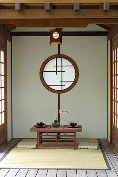 la naturaleza con fuente de inspiración en los interiores japoneses