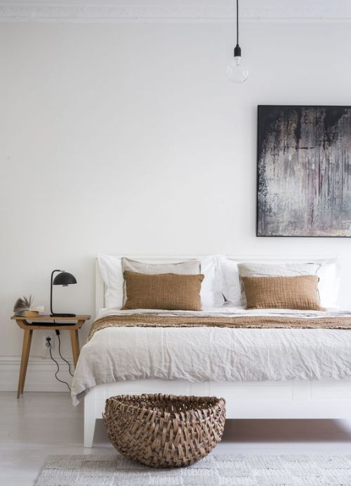 El color blanco en los interiores minimalistas
