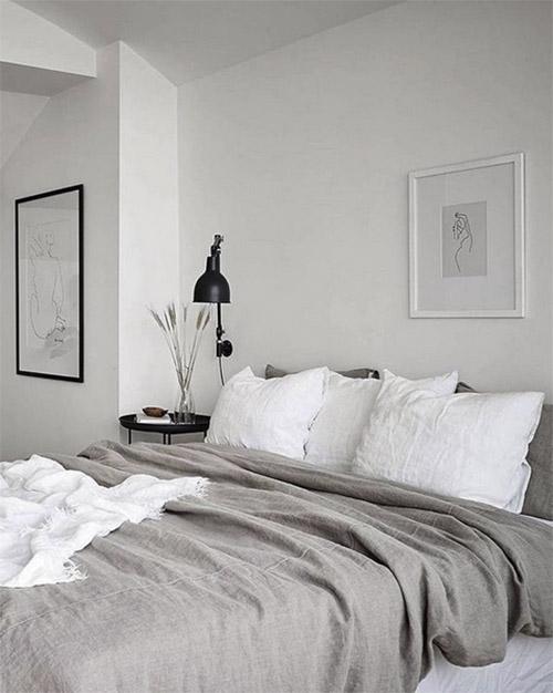 Tonos y colores neutros en la decoración de habitaciones