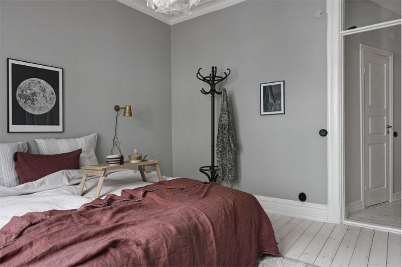 Colores y tonos de grises en la decoración de habitaciones