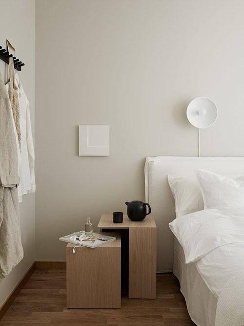 Colores neutros en la decoración minimalista