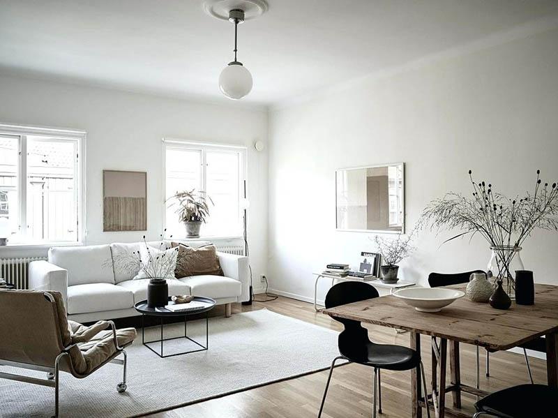 Colores neutros para el salón de casa