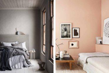 Colores para la decoración de paredes de dormitorios