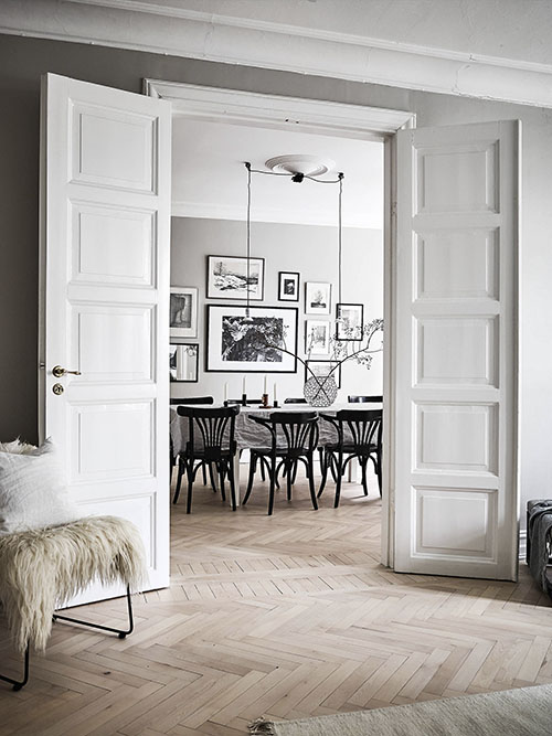 apartamento de estilo escandinavo
