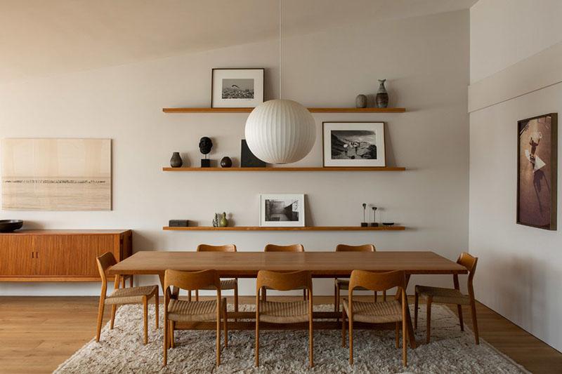 cómo decorar un comedor rústico moderno