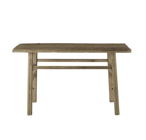 consola de madera maciza